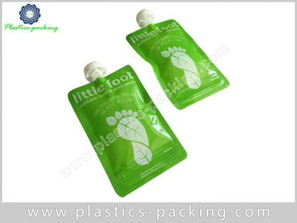 Foil Stand Up Spout Pouches Packaging with Cap yyth 311