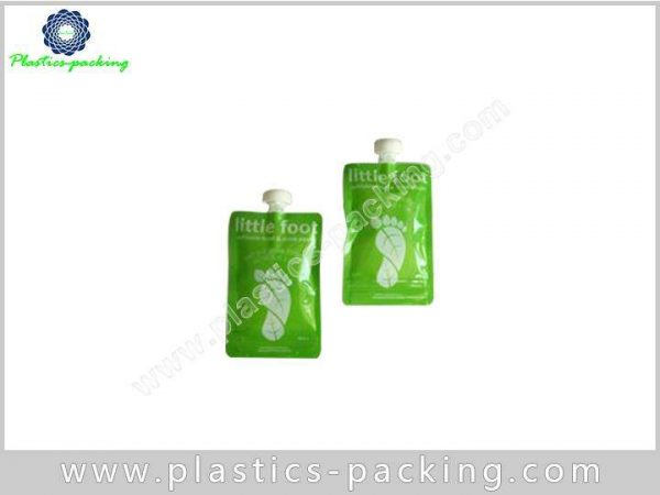 Foil Stand Up Spout Pouches Packaging with Cap yyth 312