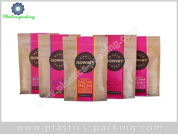 Food Grade Laminated Coffee Bag Side Gusset Heat yy 408