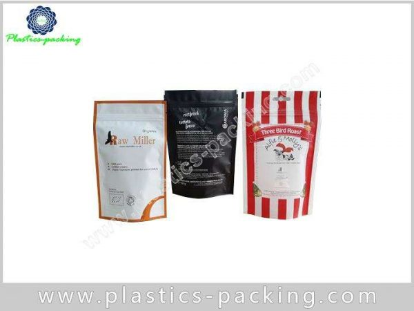 Food Packaging Doypack Pouch with Zipper One Side C 0544