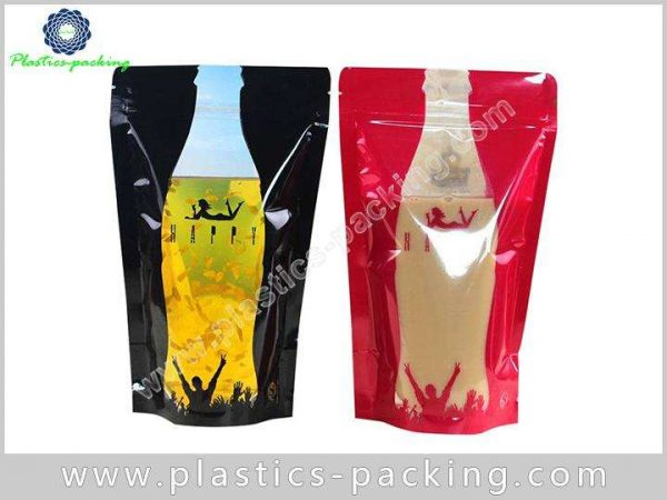 Food Packaging Doypack Pouch with Zipper One Side C 0545