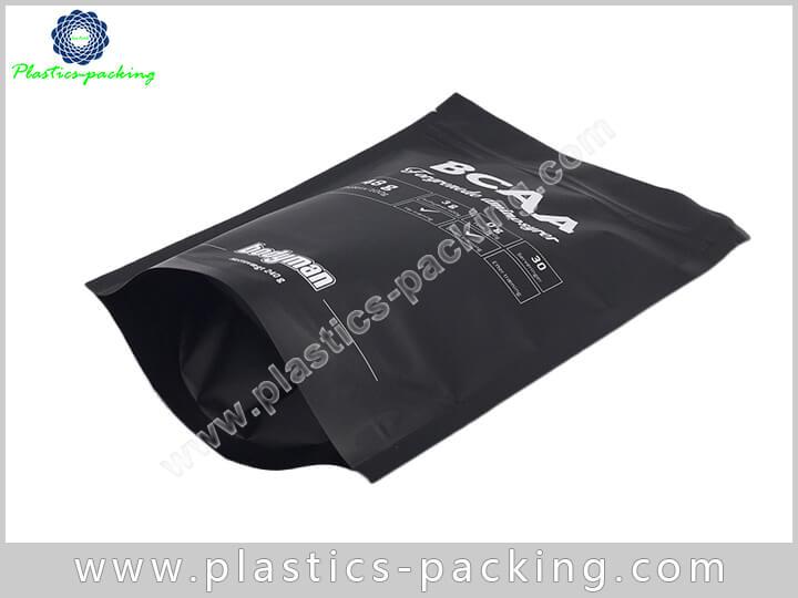 Gold Metallic Foil Stand Up Ziplock Bag Manufacture 409