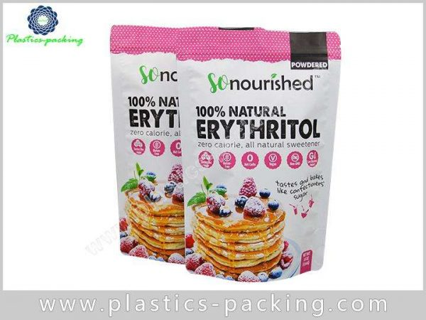 Heat Seal Food Grade Stand Up Ziplock Bag Ma 0659