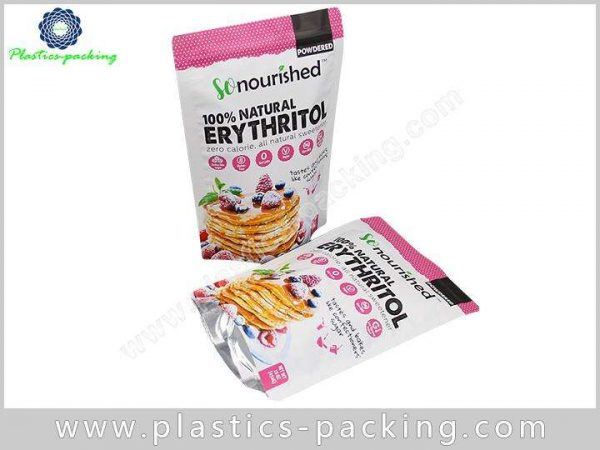 Heat Seal Food Grade Stand Up Ziplock Bag Ma 0661