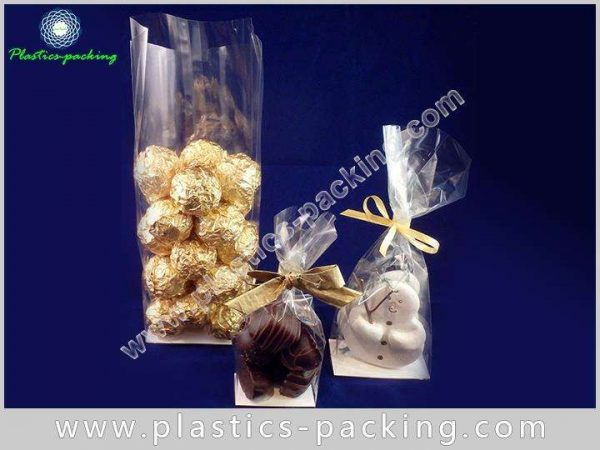 Heat Seal OPP Block Cellophane Bags with Silver yyt 054