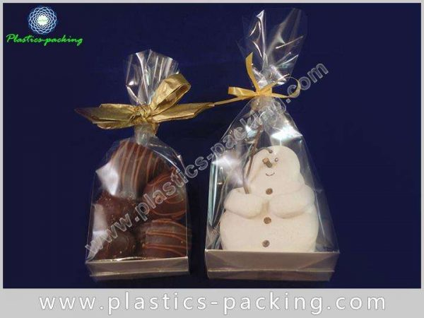 Heat Seal OPP Block Cellophane Bags with Silver yyt 055