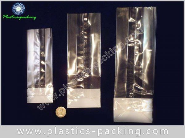 Heat Seal OPP Block Cellophane Bags with Silver yyt 056