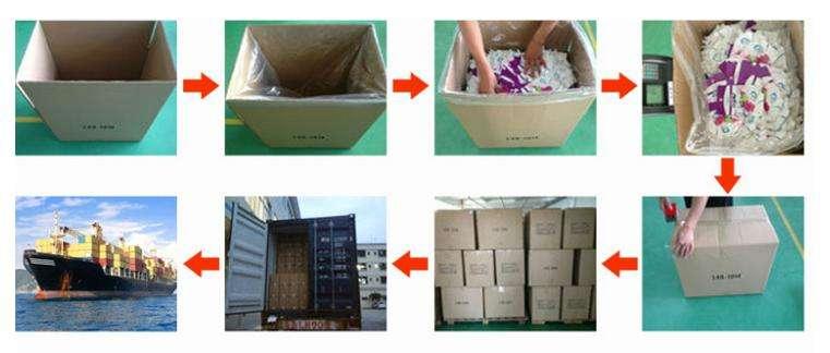 Heat Seal Printed Blue Coffee Packaging Bags with y 315