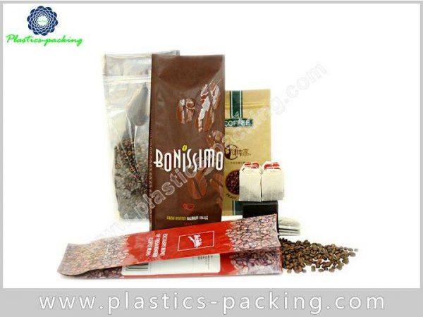 Heat Seal Printed Blue Coffee Packaging Bags with y 319