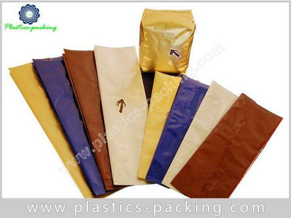 Heat Seal Printed Blue Coffee Packaging Bags with y 320