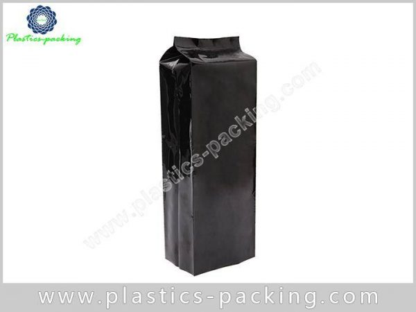 Heat Seal Printed Matte Black Coffee Bags Food yyth 306