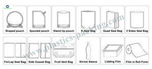 Heat Seal Zip Lock Pouch Bag for Tea Powder 0670