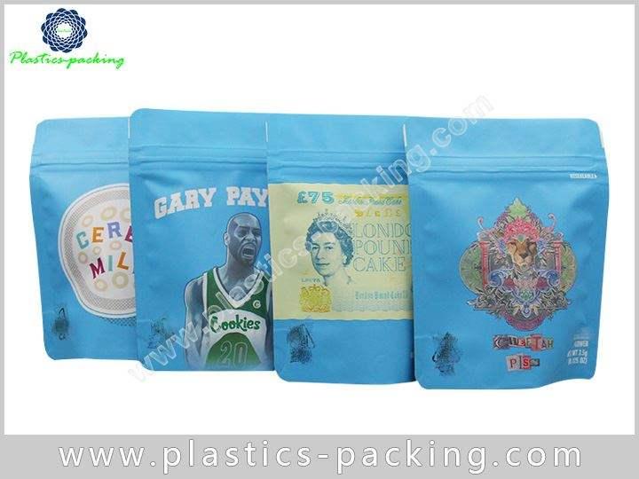 Hemp Packaging Stand Up Zipper Bags Manufacturers a 138