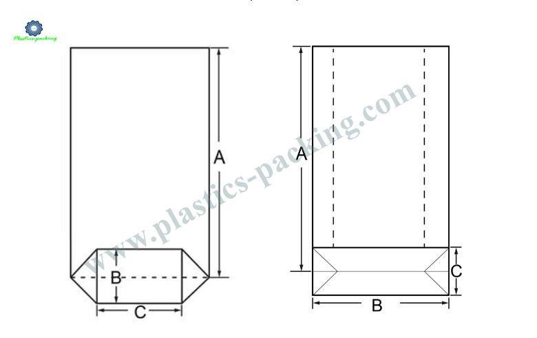 High Transparency BOPP Square Bottom Bag Manufacturers yyt 346 1