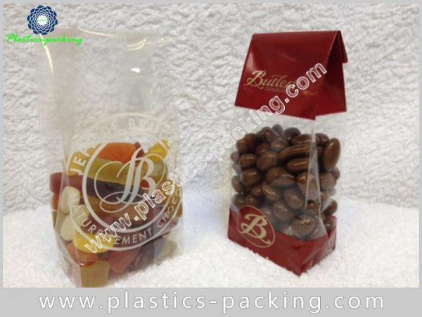 Highly Transparent Block Bottom Biscuits Bags Manufacturer 341 1