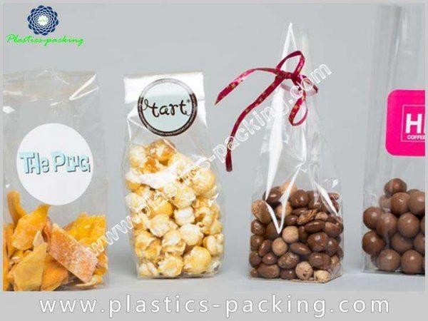 Highly Transparent Block Bottom Biscuits Bags Manufacturer 343 1