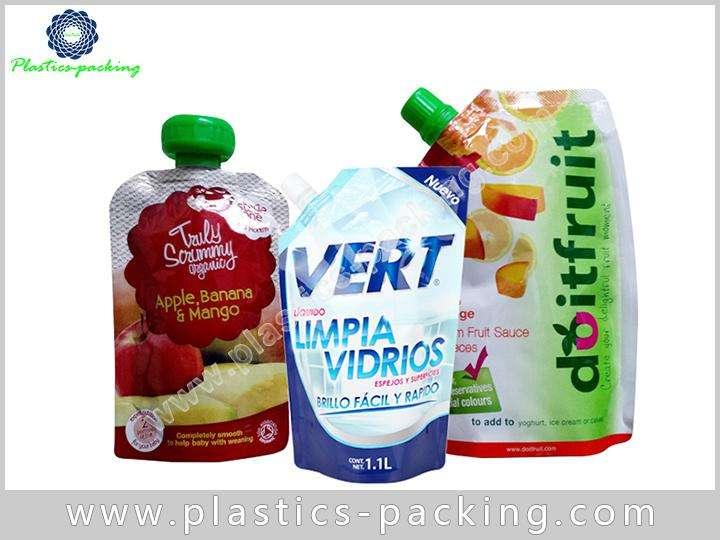 Juice Drink Plastic Printed Spout Pouch Hair Treatm 243