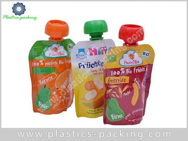 Juice Drink Plastic Printed Spout Pouch Hair Treatm 251