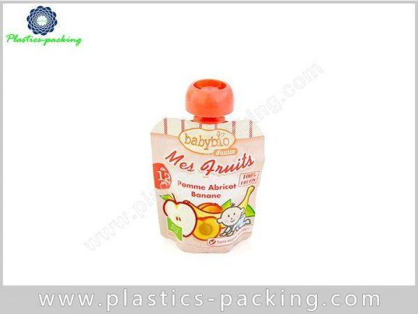 Juice Drink Plastic Printed Spout Pouch Hair Treatm 253