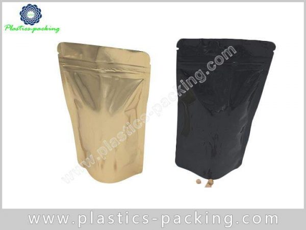 Laminated Stand up Foil Pouch with Ziplock Resealab 0735