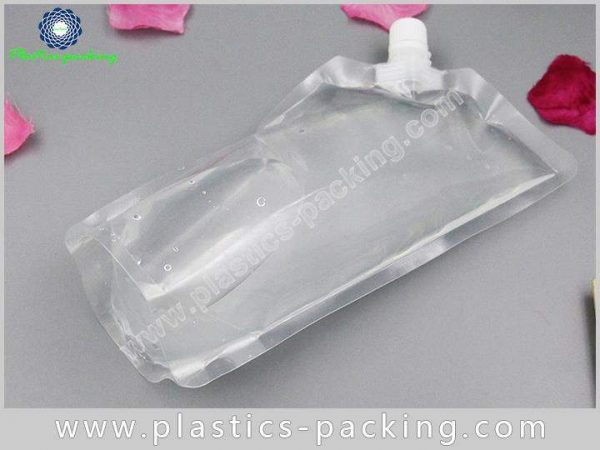 Liquid And Beverage Flexible Packaging Spouted Stand yythk 231