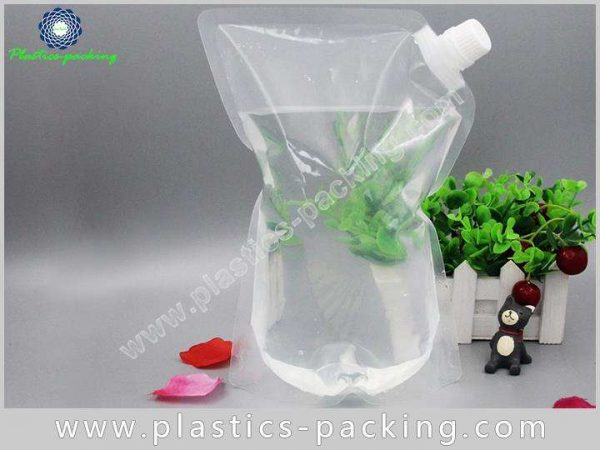 Liquid And Beverage Flexible Packaging Spouted Stand yythk 232