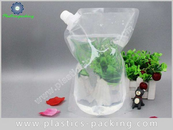 Liquid And Beverage Flexible Packaging Spouted Stand yythk 233