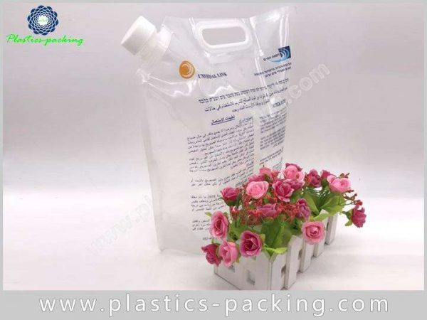Liquid Drinks Juice Spout Pouch Manufacturers and S 213