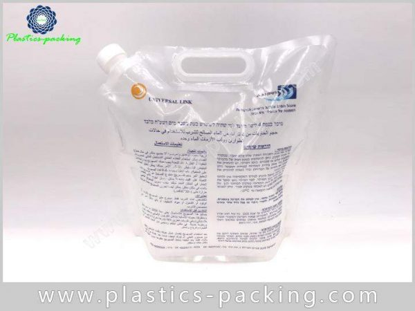 Liquid Drinks Juice Spout Pouch Manufacturers and S 214