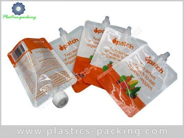 Liquid Laundry Detergent Spout Pouch Manufacturers and yyt 204