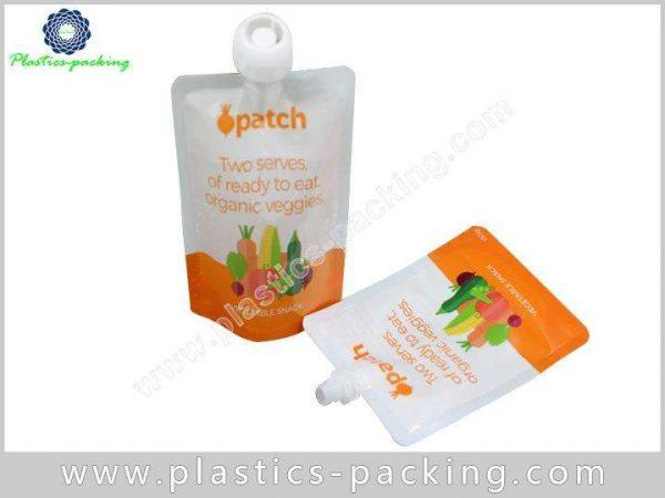 Liquid Laundry Detergent Spout Pouch Manufacturers and yyt 207