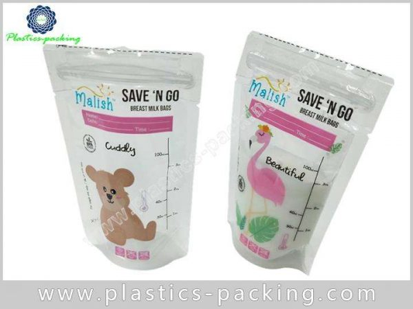 Liquid Milk Bag Stand Pouch Zipper Bag Manufacturers and y 057