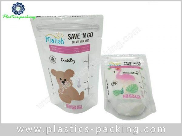 Liquid Milk Bag Stand Pouch Zipper Bag Manufacturers and y 059