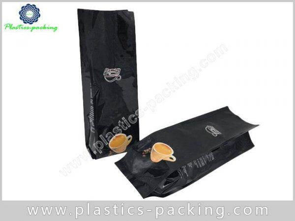 Matte Black Coffee Pouches With Valve Manufacturers yythkg 243