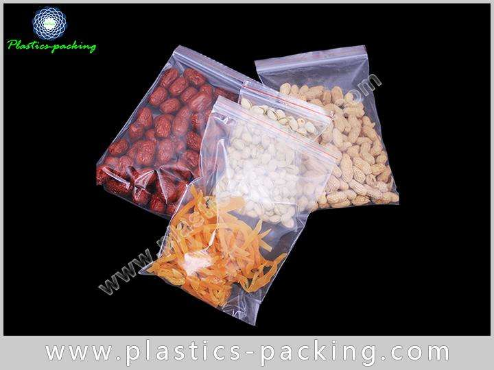 Medical Poly Pouch Zipper Thickness 120Micron PE Reseable Bag For Jewelery 2