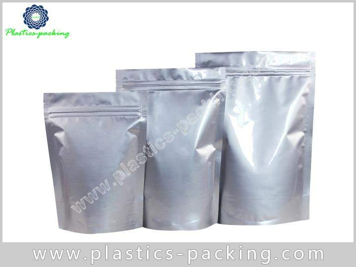 Metallized Stand Up Zipper Pouches Manufacturers and yythk 325