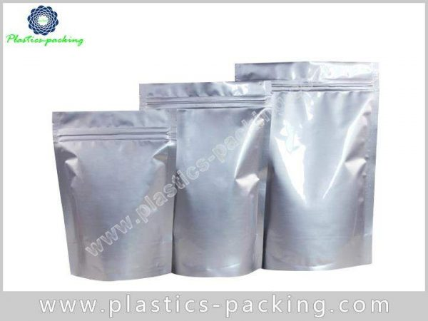 Metallized Stand Up Zipper Pouches Manufacturers and yythk 327