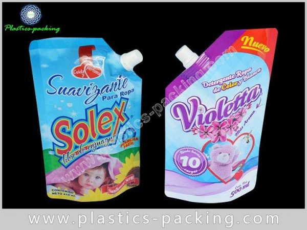 Moisture Proof Stand Up Spout Bags with Bottom yyth 199