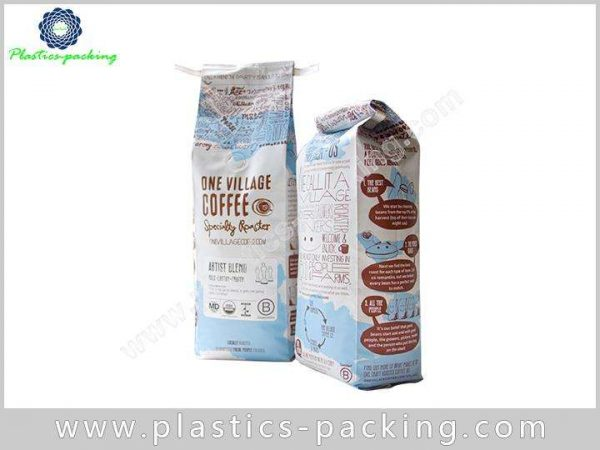 Moisture Proof Zipper Coffee Bags Plastic Stand Up 219 1