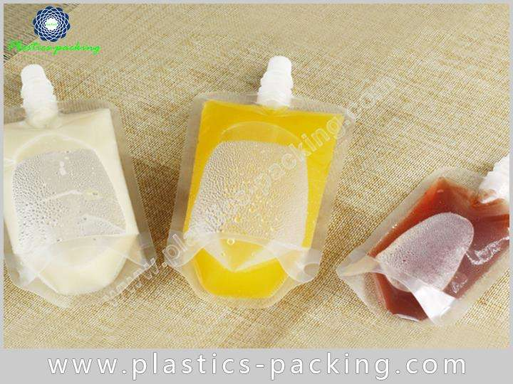 NY PE Clear Spout Pouch Manufacturers and Suppliers yythkg 194