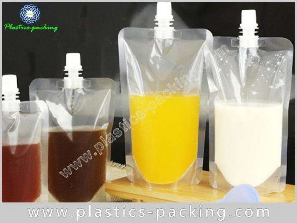 NY PE Clear Spout Pouch Manufacturers and Suppliers yythkg 195