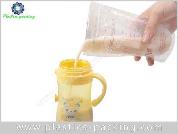 OEM Plastic Zipper Breast Milk Fresh Storage Bag yy 043