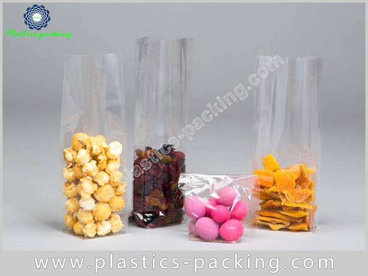 OPP Clear Cellophane Gusseted Bags Manufacturers and yythk 223 1