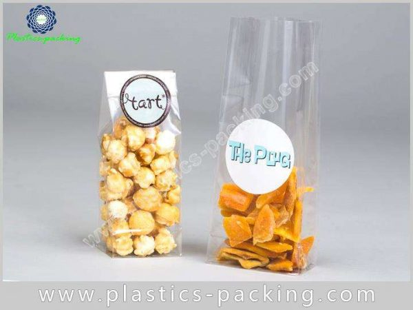 OPP Clear Cellophane Gusseted Bags Manufacturers and yythk 230 1