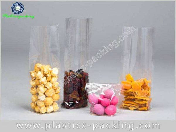 OPP Clear Cellophane Gusseted Bags Manufacturers and yythk 231 1