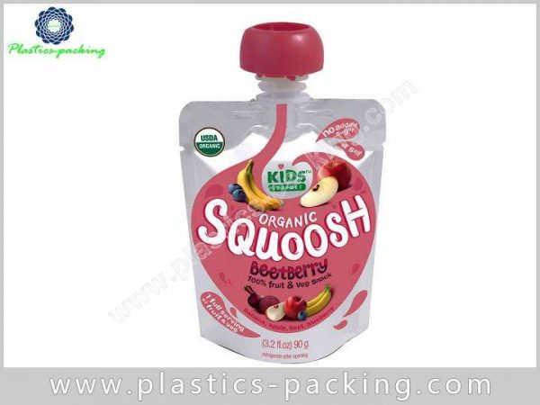 Oil Spout Pouch Juice Packaging Manufacturers and 158