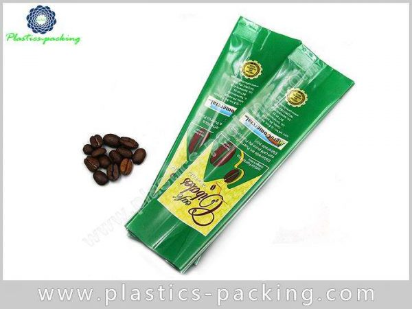 One Way Degassing Valve Foil Coffee Bags 193