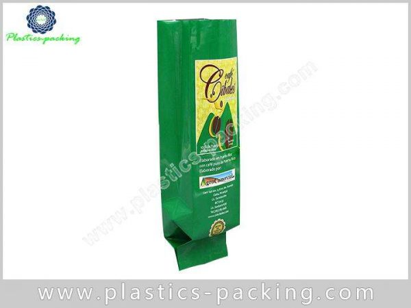 One Way Degassing Valve Foil Coffee Bags 195
