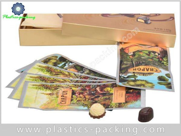 Plain Printed Coffee Zipper Bags Open Ended Coffee 177