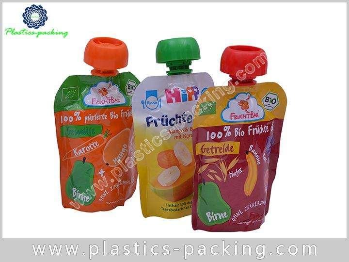 Plastic Custom Printed Spout Pouch 500ML Laundry 142